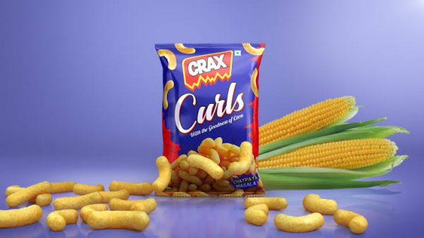 Crax Curls Confectionery Items Manufacturers