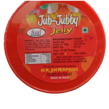 JUB JUBBY JELLY Confectionery Items Manufacturers