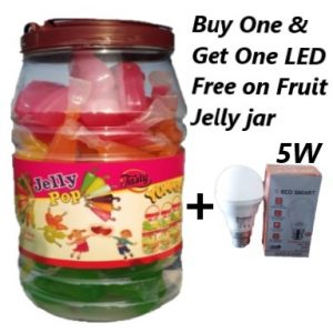 Buy One & Get One LED Free on Fruit Jelly jar